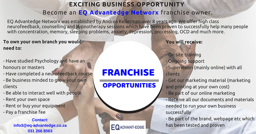Become an EQ Advantege Networx franchise owner